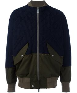 Sacai | Frayed Edge Bomber 4 Cotton/Polyester/Wool Felt