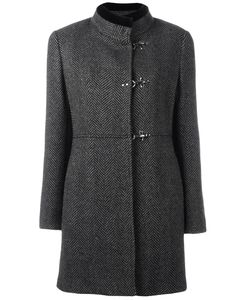 Fay | Tweed Duffle Coat Medium Cotton/Polyester/Virgin Wool