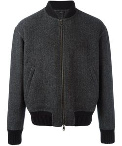 Jil Sander | Tweed Bomber Jacket 48 Polyamide/Cupro/Wool/Virgin Wool