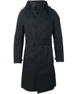 NORWEGIAN RAIN | Belted Hood Coat Large Polyester/Cashmere/Recycled Polyester