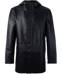 DESA | 1972 Hooded Coat 50 Leather/Polyester/Wool