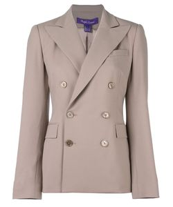 Ralph Lauren | Double Breasted Blazer 4 Silk/Spandex/Elastane/Wool