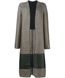 Haider Ackermann | Geometric Jacquard Coat 36 Cotton/Acrylic/Polyamide/Virgin Wool
