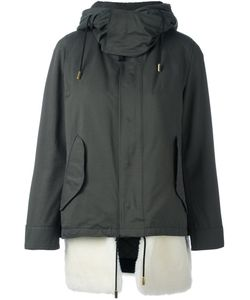 The Reracs | Hooded Zip Coat 40 Cotton/Polyester/Polyurethane/Wool