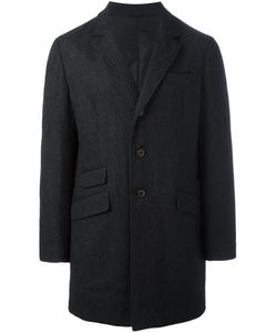 Aspesi | Padded Button Coat Xl Polyamide/Polyester/Wool