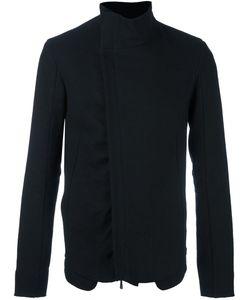 Masnada | Asymmetric High Standing Jacket 50 Linen/Flax/Polyamide/Wool