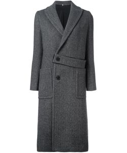 NUMEROOTTO | Belt Detailing Mid Coat 38 Cashmere/Wool