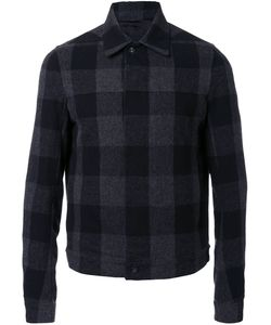 Rick Owens | Checked Shirt Jacket 50 Cotton/Nylon/Wool