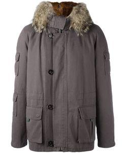YVES SALOMON HOMME | Inset Detail Parka Coat 46