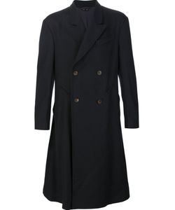 Vivienne Westwood | Man Long Double-Breasted Coat 52 Cotton/Polyamide/Acetate/Virgin
