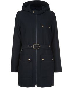 A.P.C. | Belted Coat 36 Cotton/Virgin Wool