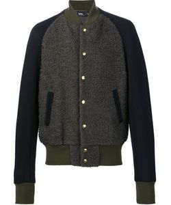 Kolor | Varsity Bomber Jacket 4 Nylon/Cupro/Wool