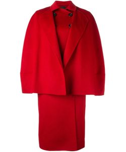 Agnona | Double-Breasted Oversized Coat Size 38 Cupro/Wool/Cashgora