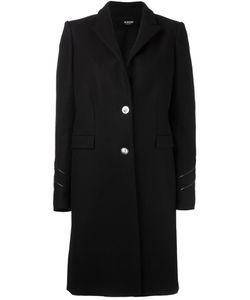 Versus | Sleeve Detailing Mid Coat 46 Leather/Polyamide/Spandex/Elastane/Wool