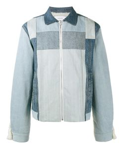 FACETASM | Panelled Denim Jacket 4 Cotton/Acrylic/Wool