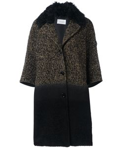 Yves Salomon | Three-Quarters Sleeve Knit Coat 40 Silk/Polyamide/Polyester/Virgin