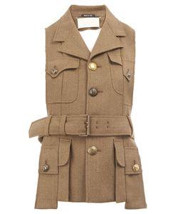 Maison Margiela | Military Style Waistcoat Jacket 38 Wool