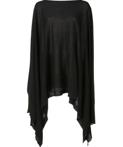 Rick Owens   Knitted Poncho Small Wool