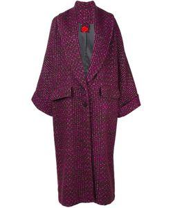 Ultràchic | Plaid Oversized Coat 36 Cotton/Acrylic/Nylon/Pbt Elite