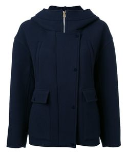Rito   Hooded Tweed Jacket 38 Wool