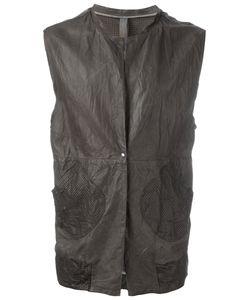 Wlg By Giorgio Brato | Leather Waistcoat 44 Leather