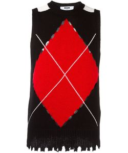 MSGM | Knitted Vest Medium Polyamide/Wool