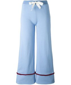 Jour/Né | Bow Waistband Flared Trousers 36 Cotton
