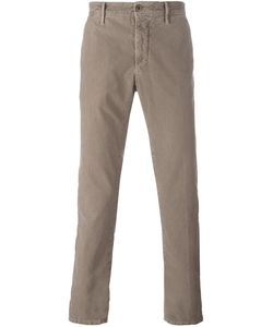 Incotex | Slim Fit Chinos 33 Cotton/Spandex/Elastane