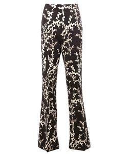 Giambattista Valli | Flared Trousers 42 Cotton/Polyamide/Acetate/Viscose