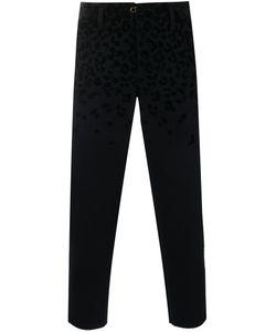 Kolor | Cropped Leopard Print Trousers 5 Nylon/Cupro/Wool