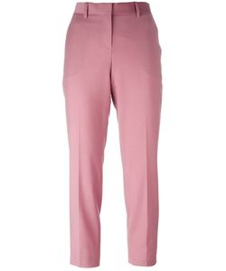 Theory | Treeca Straight Leg Cropped Trousers 4 Polyamide/Spandex/Elastane/Virgin