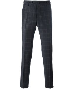 Pt01 | Checked Tapered Trousers 54 Virgin Wool