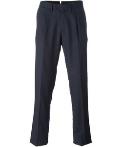 BORRELLI | Classic Tapered Trousers 50 Cotton/Polyester/Virgin Wool