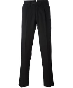 BORRELLI | Pleated Detailing Tailored Trousers 50 Cotton/Polyester/Virgin Wool