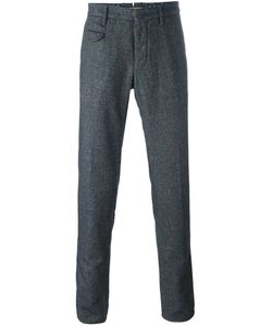 Incotex | Straight Leg Trousers 33 Cotton/Nylon/Viscose/Wool