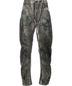 Lost & Found Ria Dunn   Slash Cut Pants Mens Size Large