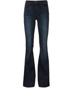 Paige | Classic Flared Jeans 30 Cotton/Polyester/Spandex/Elastane/Rayon