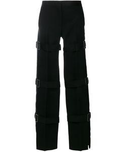 Alexander McQueen | Strap Tuxedo Trousers 40 Silk/Cupro/Wool