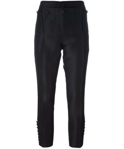 Dsquared2 | Livery Tenent Icon Cropped Trousers 40 Silk/Polyester/Wool