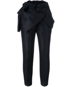 Dsquared2 | Ruffle Detail Tailored Trousers 42 Silk/Wool