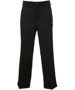 LOVELESS | Straight Leg Cropped Trousers 1 Wool