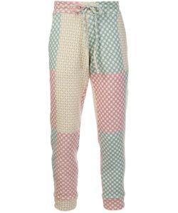 The Elder Statesman | Drawstring Fastening Trousers Small Polyamide/Spandex/Elastane/Cashmere