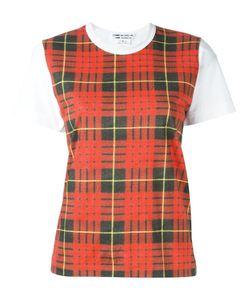 COMME DES GARCONS COMME DES GARCONS | Comme Des Garçons Comme Des Garçons Checked Shortsleeved T-Shirt
