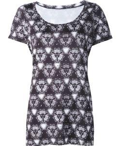 Prabal Gurung Sport | Kaleidoscope Print T-Shirt Large Polyester