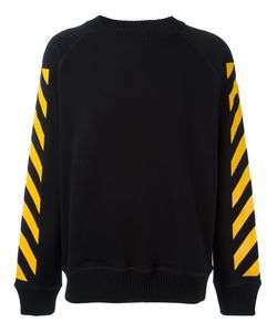 Moncler x Off-White | Striped Sleeves Sweatshirt Large Cotton