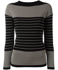 Toteme | Striped Jumper Medium Nylon/Rayon