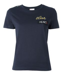Red Valentino | Love T-Shirt Small Polyester/Viscose