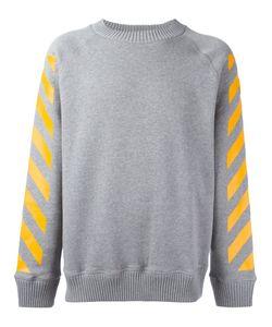 Moncler x Off-White   Striped Sleeved Sweatshirt Medium Cotton