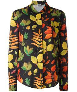Arthur Arbesser | Leaf Print Shirt 42 Polyester/Spandex/Elastane