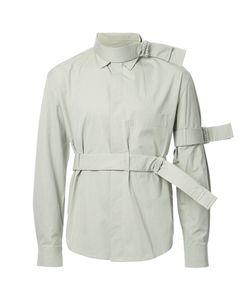 CRAIG GREEN | Strap Detail Shirt Small Cotton/Nylon/Polyester